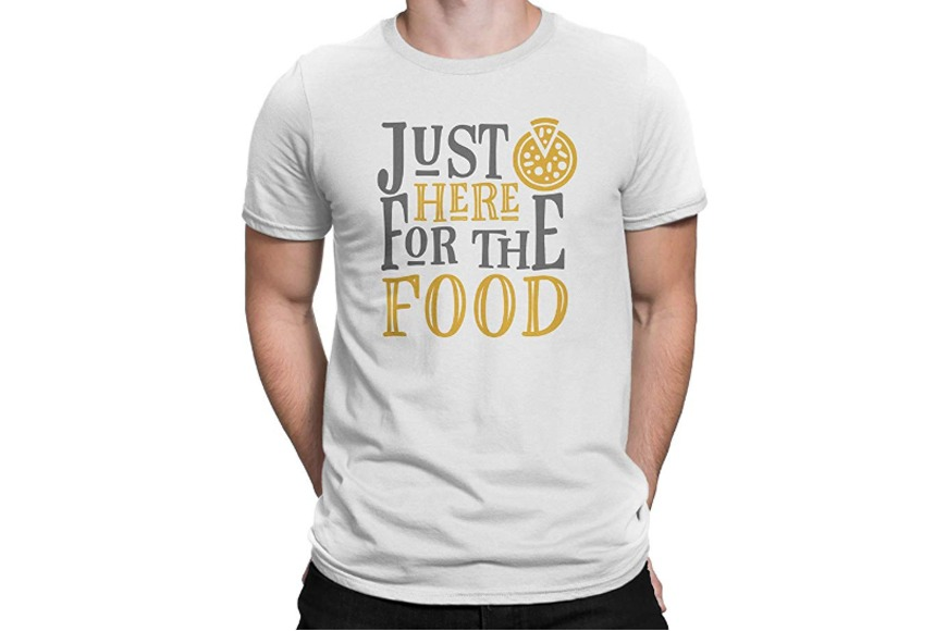 Just Here For the Food T-Shirt Unisex