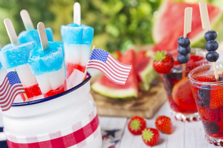 4th July snacks and food