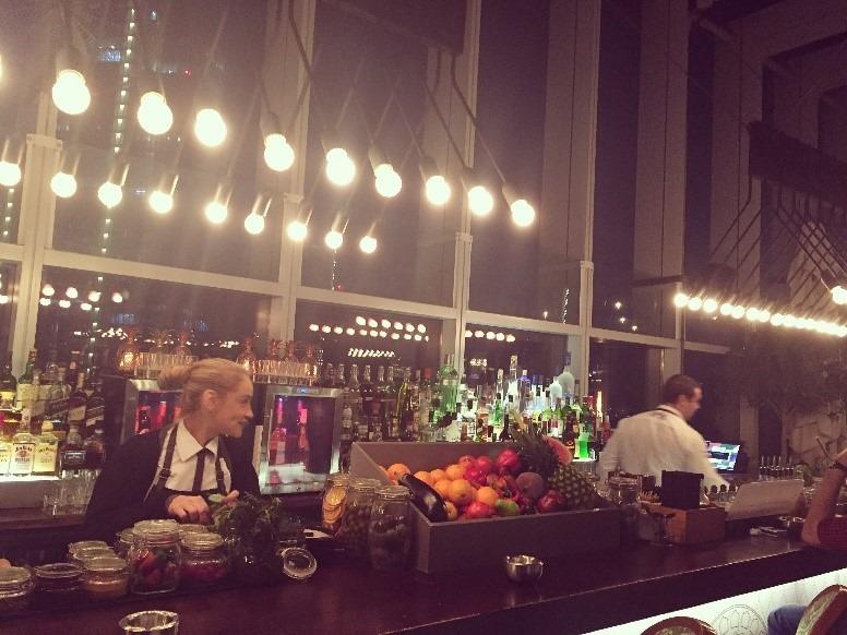 Iris Dubai review - dinner with a view 1