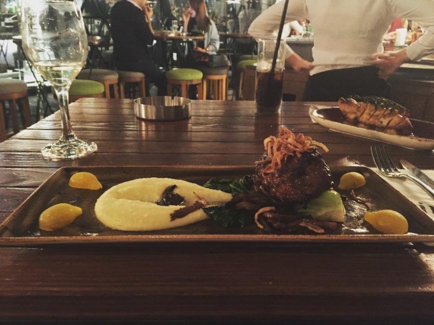 Iris Dubai review - dinner with a view