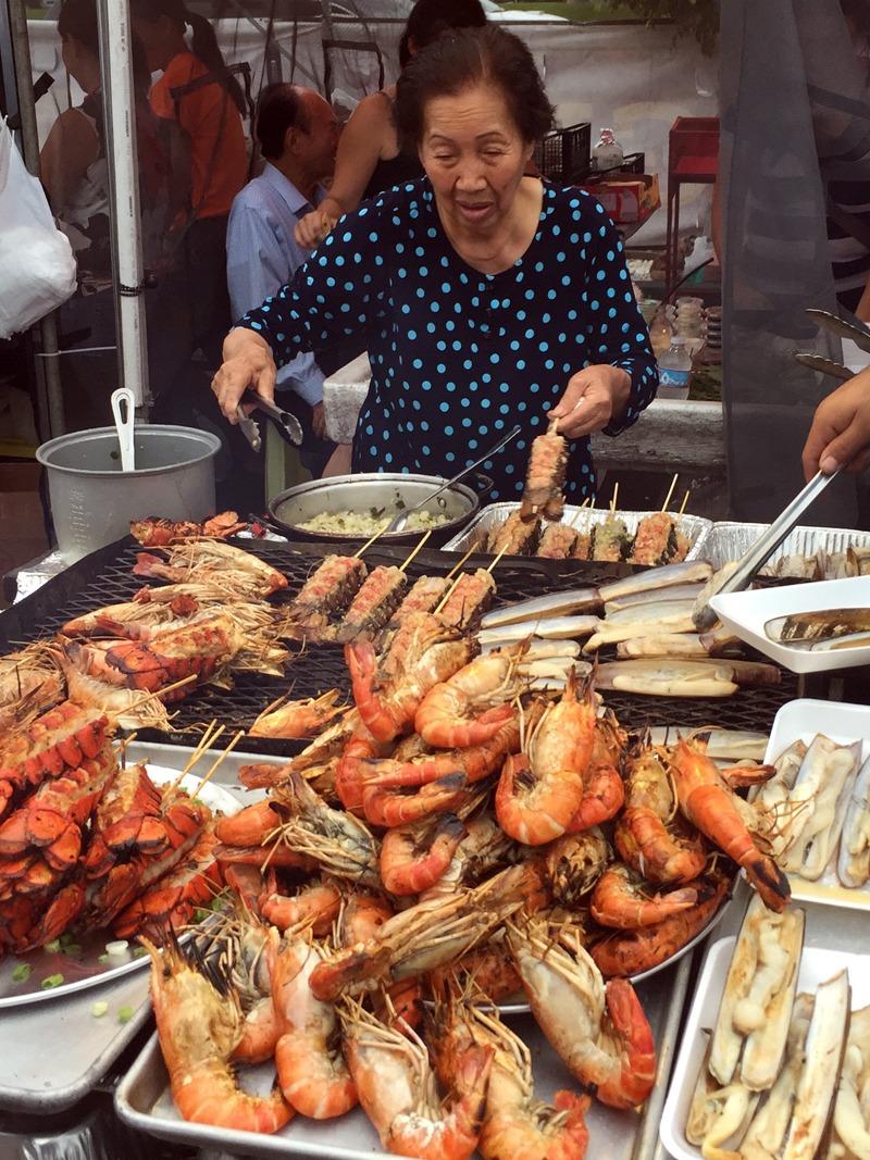 Vietnamese-style streeet food