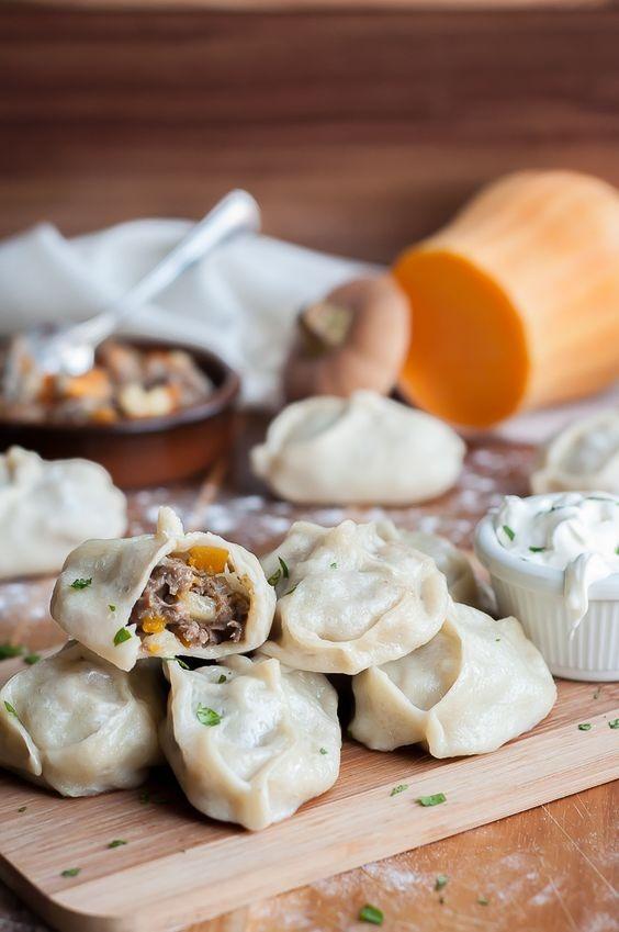 Steamed Dumpling - Manti