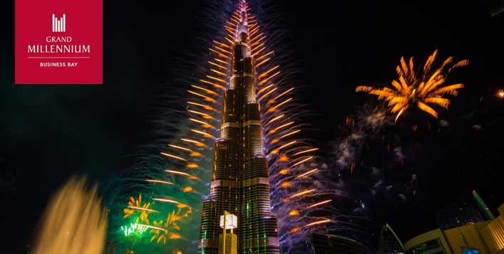 Best New Year's Eve dinner in Dubai