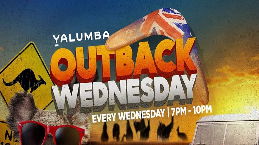 Outback Wednesdays