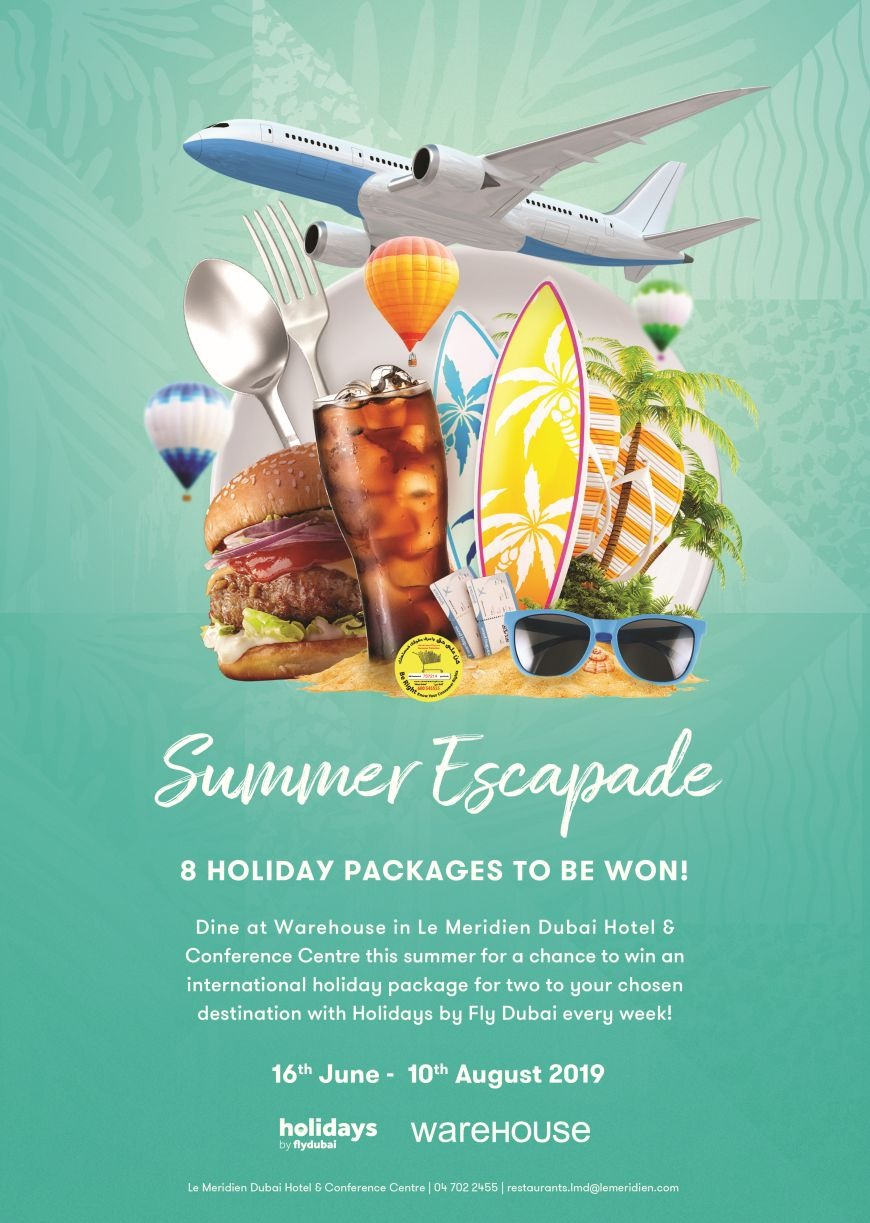 Discover Exciting Prizes and Offers at Le Meridien Dubai Hotel