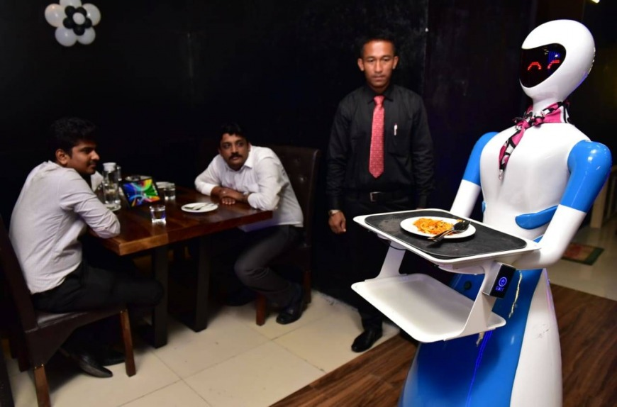 Robot restaurants in India
