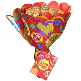 Chupa Chups Lollipop Flower Bouquet