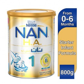 Nestlé NAN H.A. Hypoallergenic Starter Infant Formula 800g