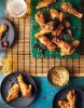 Sweet chilli crispy chicken wings