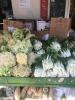 Fresh veg in Stockton Street Market