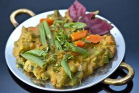 Vegetable Hariyali from Govinda's