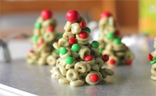 Cheerio Xmas Tree Treats