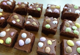 Easter Chocolate Tray Bake