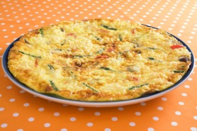 Cheddar and Apple Frittata
