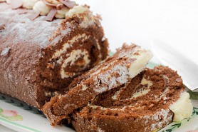 Vicky's Chocolate Roulade