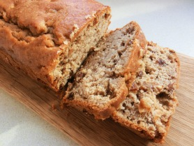 Apple and Sultana Tea Bread