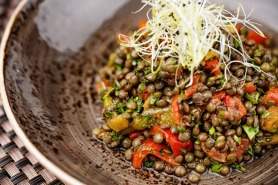 Lentil Salad by Iris Abu Dhabi
