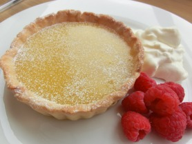 Lime Curd Tartlets