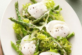 Asparagus and Poached Egg Salad