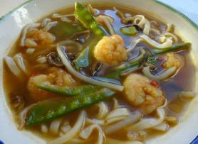 Vietnamese Style Prawn Noodle Soup