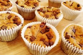 Secretly Healthy Vanilla Chocolate Chip Muffins