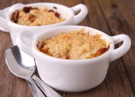 Easy as Pie Apple Crumble