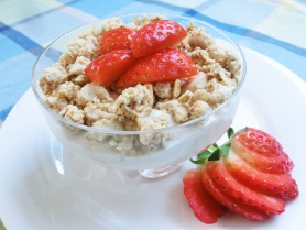 Strawberry and Yoghurt Crunch