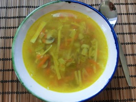 Chinese Style Clear Vegetable Soup