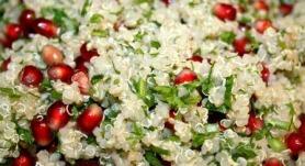 Green Baked Quinoa