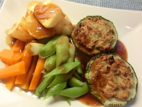 Stuffed Vegetable Marrow