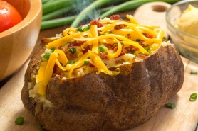 Fresh Hot Baked Potato