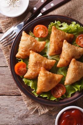 Deep-Fried Iftar Snacks