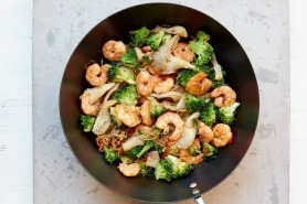 Prawn And Broccoli Stir-Fry