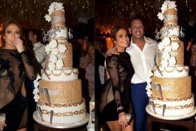 Jennifer Lopez's 48th Birthday Cake