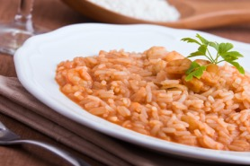 Tuscan Shrimp Risotto