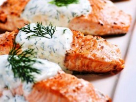 Dill Baked Salmon