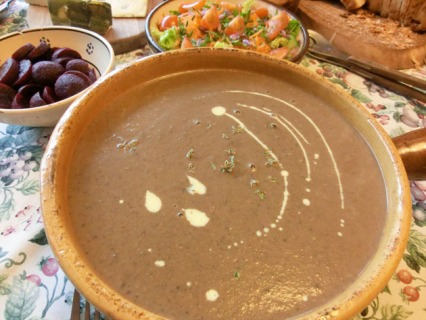 Mushroom and Thyme Soup