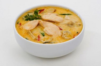 Very Easy Thai Chicken Coconut Soup