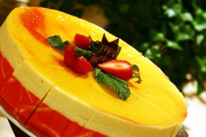 Mango and Strawberry Mousse