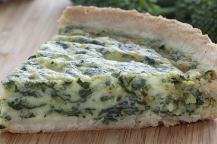 Blue Cheese Quiche