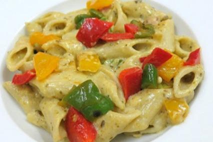 Pesto Cream Pasta