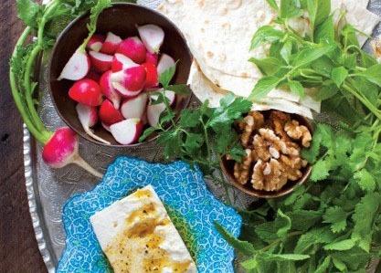 Fresh Herb Platter (Sabzi Khordan)
