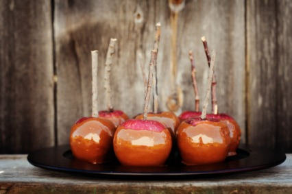 Traditional Toffee Apples