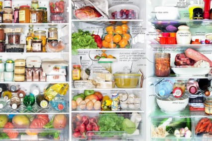 How to organise fridge