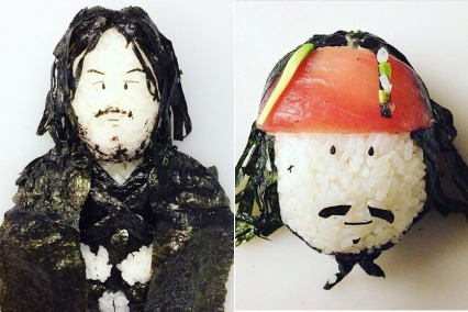 This Japanese Chef Turns Celebrities Into Delicious Sushi