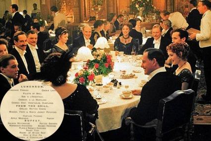 The Last Meal Served On Titanic