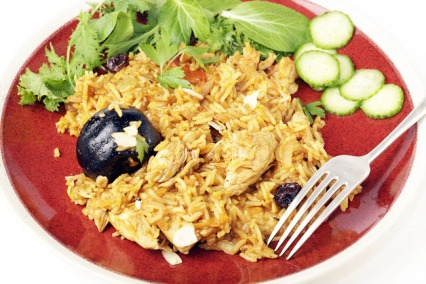 Bahraini Chicken Machboos / Machbous