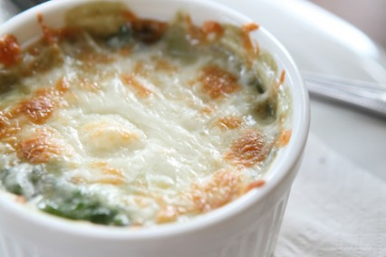 Spinach Cheese Fondue