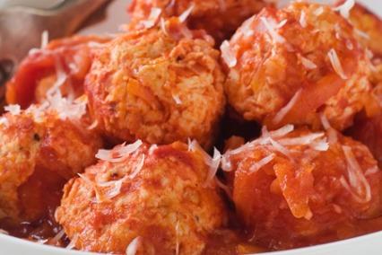 Tomato & Garlic Meatballs