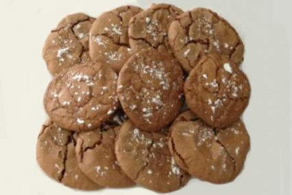 Brownie walnut cookies